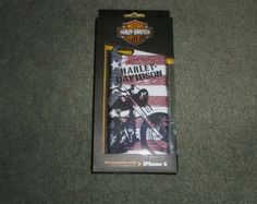 Harley Davidson Motorcycles American Flag Cell Phone Cover iPhone 6 Case, NEW #HarleyDavidsonMotorcycles