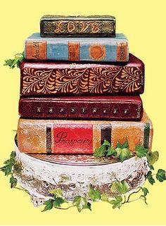 Bookish Wedding Cake