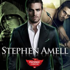 Joining us at Phoenix Comicon on Saturday, June 7th only, is Stephen Amell! Known for his portrayal of Oliver Queen on Arrow based on the DC Comic superhero, Stephen has also played Jason on HBO's Hung, Scottie on Private Practice, and Kyle on New Girl among other roles. Other notable appearances include guest starring roles on CSI:Miami, NCIS:LA, Vampire Diaries, and 90210.