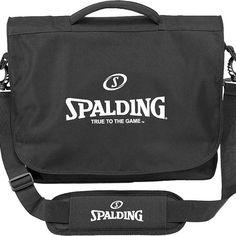 Maletín Spalding Messenger Bag de negocios con asa de plástico ajustable y varios compartimentos http://www.basketspirit.com/Spalding-complementos