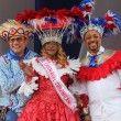 Fefita y Michael Miguel, los aclamados reyes Desfile del Carnaval