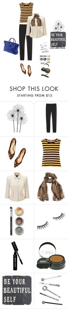 """""""Untitled #208"""" by debbiedew ❤ liked on Polyvore featuring Milly, Madewell, Alexandre Birman, Yves Saint Laurent, Viyella, Bare Escentuals, Benefit, Bobbi Brown Cosmetics, Iman and Pier 1 Imports"""