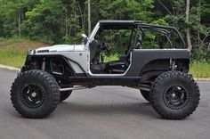 Stretched just a little. Rock Crawler
