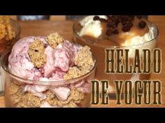 Helado de Yogur con Toppings y Salsas Dukan Receta Fase Ataque y crucero - YouTube