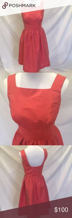Alfred Sung Dress Vintage teacup dress style with square neck. Used as bridesmaid dress, have a different style dress in the same color size 0 if needing matching dresses Alfred Sung Dresses Mini