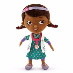 Doctora Juguetes Peluche 32 Cm Disney Store Vestido Azul - $ 500.00