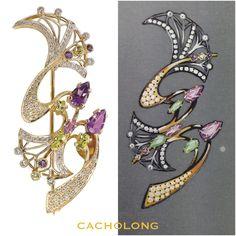 #sketch #brooch #flower #diamond #ametist  #gold #jewellery #art #design #silversterling #stones  #fashion #style  #Russia #saintpetersburg #obvodnykanal #traditions #jewelry #brand #cacholong #maxarthurstudio