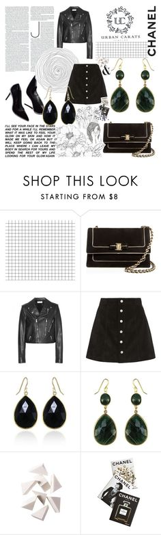 """Bez naslova #1"" by k-tadic ❤ liked on Polyvore featuring Salvatore Ferragamo, Yves Saint Laurent, AG Adriano Goldschmied, La Femme, Bobbi Brown Cosmetics, Assouline Publishing and urbancarats"