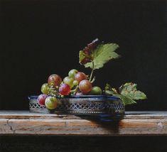 Roman Reisinger - Still life with wild grapes