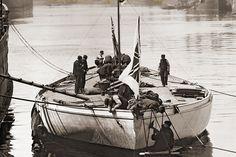 Lulworth 1930 © Beken of Cowes :: Image :: J Class Association Sailboat Racing, Sailboats, Courses, Boating, Sailing Ships, Transportation, Dragon, Sea, Board