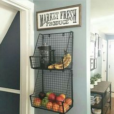 Love the baskets