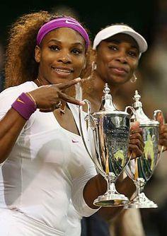Serena, Venus Williams win Wimbledon doubles title - Tennis