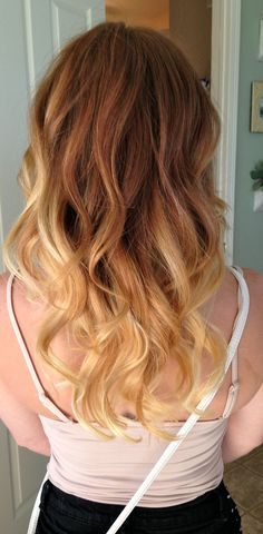 I believe this will be a new hair adventure for me. Ombre.