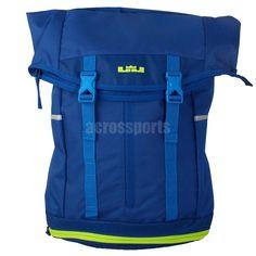 33a9621419eb Nike Lebron Ambassador Blue Volt James Basketball Backpack Backbag BP  BA4750-434
