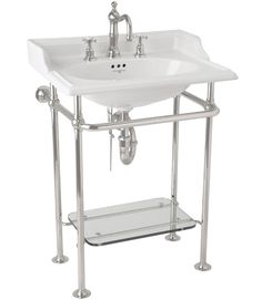 American Standard Standard Console sink with Chrome Legs