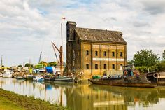 Oyster Bay House Chambers Wharf Faversham England United Kingdom  www.alamy.com/image-details-popup.asp?ARef=G3M8XD marketplace.500px.com/photos/160653753 #water #old #england #warehouse #travel #uk #architecture #building #reflection #britain #united #europe #kingdom #boat #great #vintage #town #river #european #historic #heritage #english #british #waterfront #brick #victorian #commerce #dockside #harbor #industry