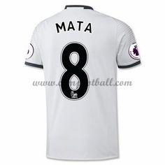 Manchester United Fotballdrakter 2016-17 Mata 8 Tredjedrakt
