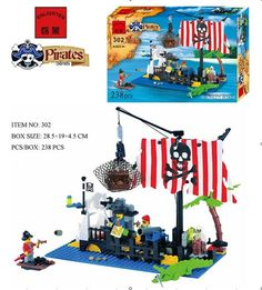 Enlighten 302 Sunken Boat Pirates Sea Drift Floating on the Sea Minifigure 2016 Assemble Building Block   Toys //Price: $US $16.52 & FREE Shipping //     #rchelicopters