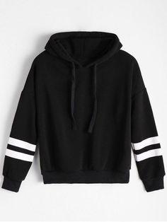 Back to school, back to saving! Free shipping worldwide!  Drop Shoulder Striped Drawstring Hoodie. zaful,zaful.com,zaful fashion,tops,womens tops,outerwear,sweatshirts,hoodies,hoodies outfit,hoodies for teens,sweatshirts outfit,long sleeve tops,sweatshirts for teens,winter outfits,fall outfits,tops,sweatshirts for women,women's hoodies,womens sweatshirts,crop top hoodie,cute sweatshirts,floral hoodie,crop hoodies,designer hoodies,oversized sweatshirt @zaful Extra 10% OFF Code:ZF2017