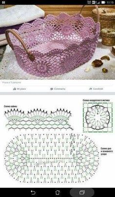 How to Crochet a Solid Granny Square Crochet Borders, Crochet Diagram, Filet Crochet, Crochet Motif, Crochet Designs, Crochet Doilies, Crochet Flowers, Crochet Lace, Crochet Stitches
