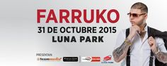 Farruko se presentará en el Estadio Luna Park de Buenos Aires