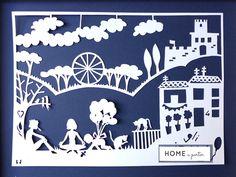 Home a porter: Papercut à porter #2: A casa di Pietro