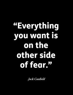 Tips and techniques to help you let go of #fear