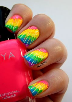 ALIQUID #nail #nails #nailart