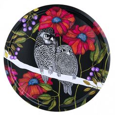 Nadja Wedin design  iso pöllötarjotin