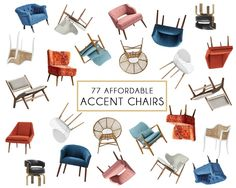 We have been shopping our bums off for affordable accent chairs lately for clients. What is an accent chair, you ask? It's basically just a fancy word for living room chair. They tend to be on the smaller side – less clubby and loungey, more sitting-up-straight-and-chatting chairs. So we (with the help of Kelsey) now... Read More …