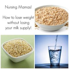 How To Lose Weight While Nursing