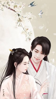 Heavy sweetness ash like frost Yang Zi Deng Lun Chinese Painting, Chinese Art, Anime Fantasy, Fantasy Art, Ashes Love, Le Clan, Chines Drama, Fantasy Couples, Anime Love Couple