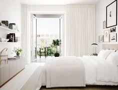 gardiner från golv till tak