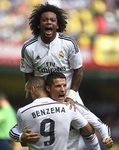 Marcelo, Karim Benzema And Cristiano Ronaldo!