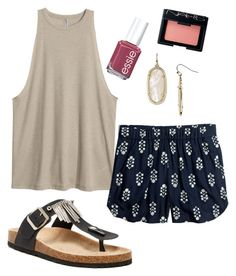 """""""Untitled #127"""" by lizzie-mg on Polyvore featuring Madewell, Bucco, Kendra Scott, Essie and NARS Cosmetics"""