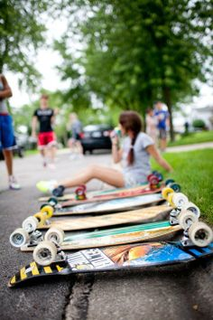 Daaang, we could really use a longboard break right around now. LoweRiders Downingtown.