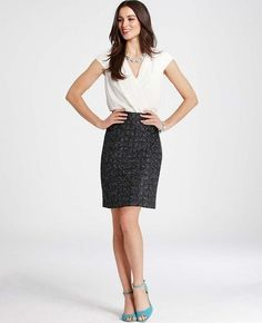 Professionelle: Cross Tweed Dress