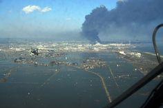 Distant view of Rikuzentakata - 東日本大震災 - Wikipedia