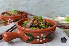 Lemon & Vanilla: Wild Mushroom Claypot Rice / Arroz de Cogumelos.