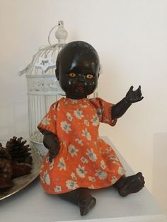 #1950s/60s ok #kader #black vintage baby doll ,  View more on the LINK: 	http://www.zeppy.io/product/gb/2/262816422898/