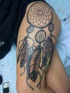 """Dreamcatcher tattoo with this quote above it """"It does not do to dwell on dreams and forget to live"""" (This is what I'm getting)"""