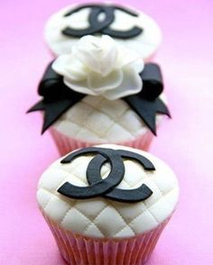 Chanel Cupcakes by Fancy Batter http://www.facebook.com/fancybatter