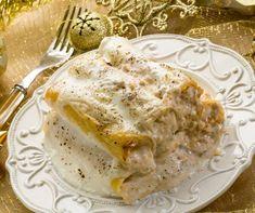 Pranzo di Natale, cannelloni al gorgonzola per un primo perfetto! Lasagna, Eggs, Breakfast, Ethnic Recipes, Food, Morning Coffee, Essen, Egg, Meals