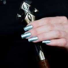 "China Glaze Crinkled Chrome ""Don`t Be Foiled"""