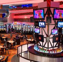 2 Tower bars are located on either end of the casino and offer Bartender service from 11a – 2a, and floor Wait Staff available 24-7.