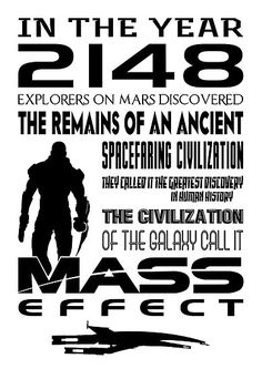 Adam Angold › Portfolio › Quote Mass Effect Print