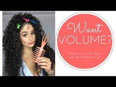 Create volume with Bounce Curl and clips - YouTube