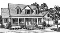 Seven Pines - Mitchell Ginn | Southern Living House Plans