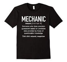 Amazon.com: Mechanic Definition Funny T-shirt: Clothing