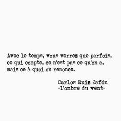 Carlos Ruiz Zafón - L'ombre du vent -